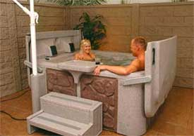 The Compact Spa by South Pacific Spas